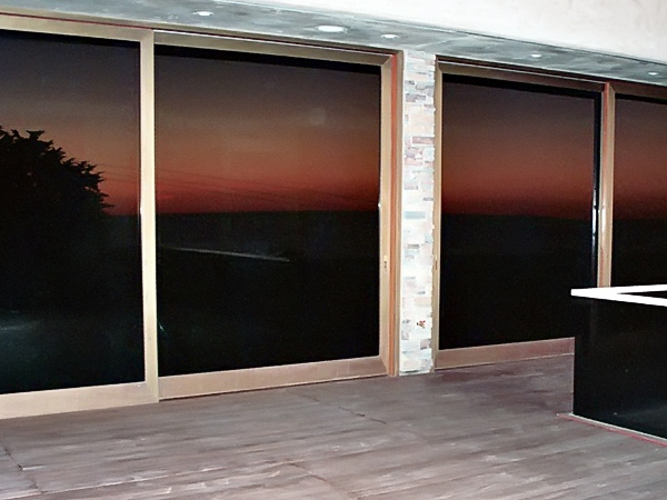 Custom Metal Clad Solid Wood Doors Wood Art Design