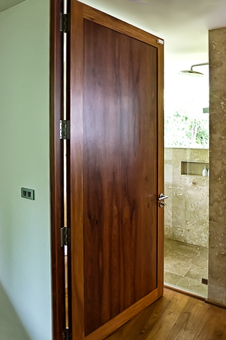 Custom Quality Solid Wood And Metal Doors Wood Art Design