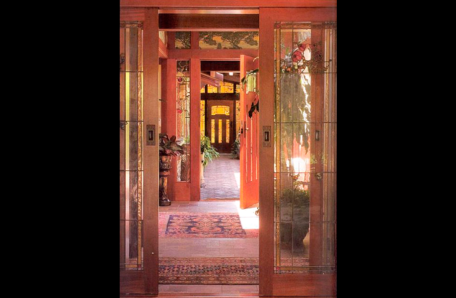 Craftsman door - Newport Beach, California | Wood Art Design