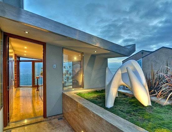 The Gull House Laguna Beach California Wood Art Design