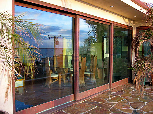 Koa Wood And Copper Clad Lift And Slide Doors Wood Art